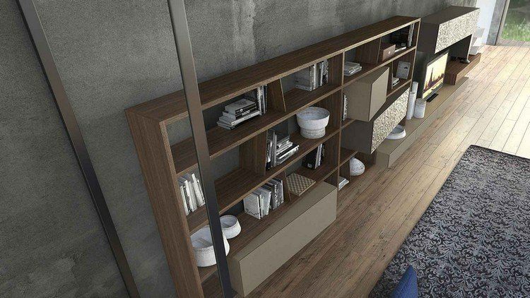 muebles de diseño estanterias salon