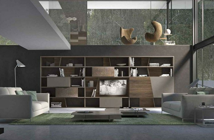 salon muebles de diseo moderno