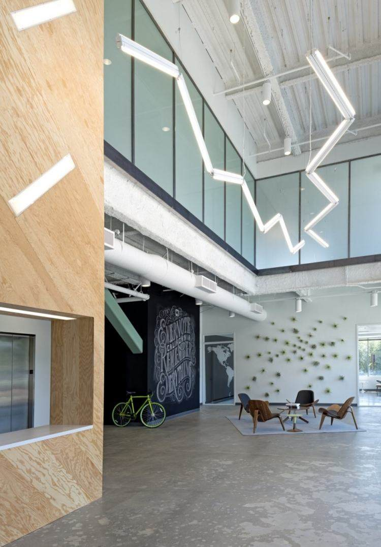 muebles estilo industrial sillas madera salon amplio ideas