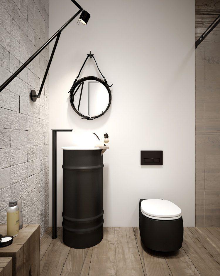 muebles modernos estilo industrial lavabo interesante ideas