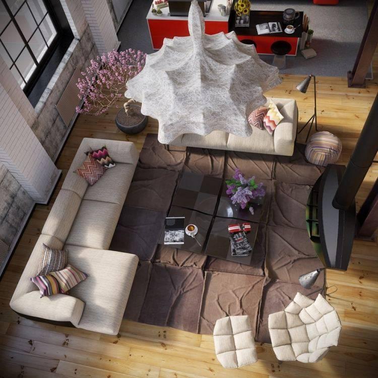 muebles modernos estilo industrial mesa cafe original ideas