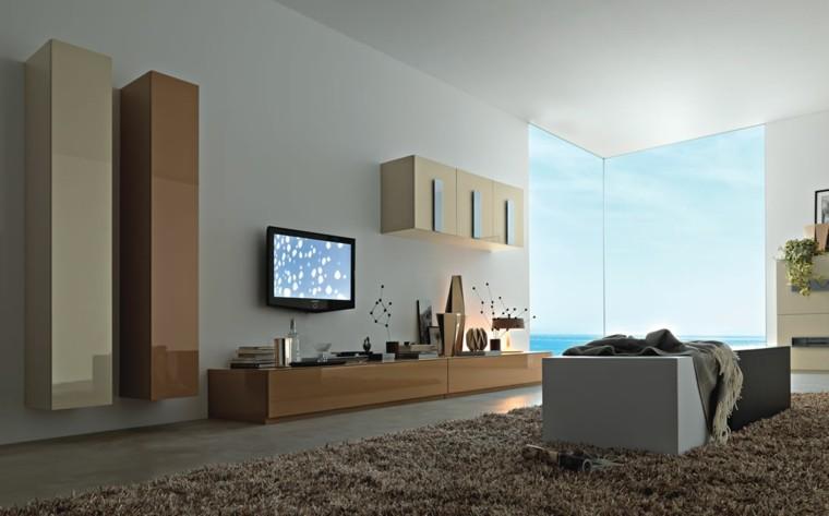muebles para tv cafe alfombra ras