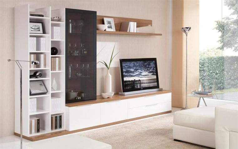 Muebles para tv 50 propuestas creativas y modernas for Muebles para sala de tv