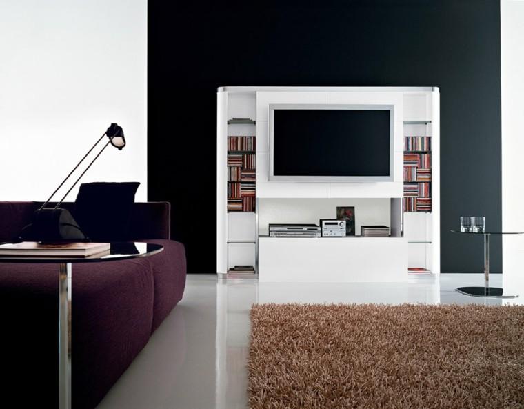 Muebles para tv 50 propuestas creativas y modernas for Muebles altos para tv