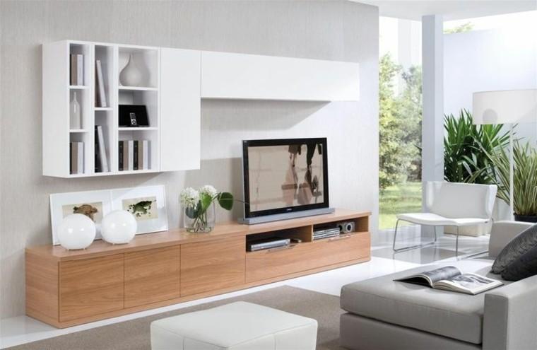 Muebles para tv, 50 propuestas creativas y modernas.