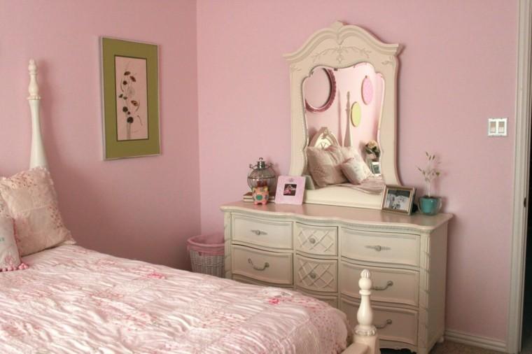 muebles retro tocador beige