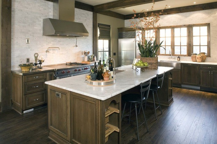 muebles cocina revestimiento madera laminada