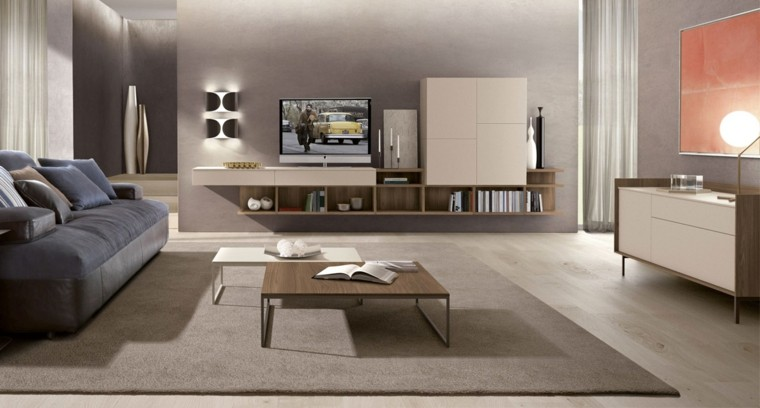 Muebles de sal n modernos 50 ideas impresionantes for Colori sala