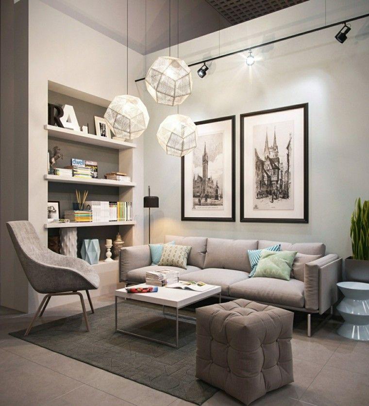 Muebles de sal n modernos 50 ideas impresionantes - Ideas muebles salon ...