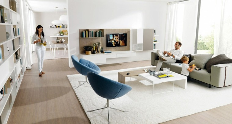 Muebles de sal n modernos 50 ideas impresionantes for Ideas salones modernos