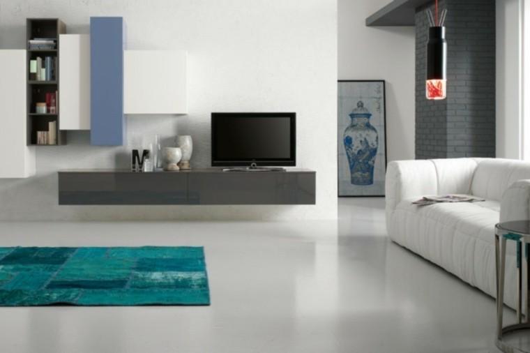 Fotos de muebles de salon modernos saln moderno shane - Alfombra salon moderno ...