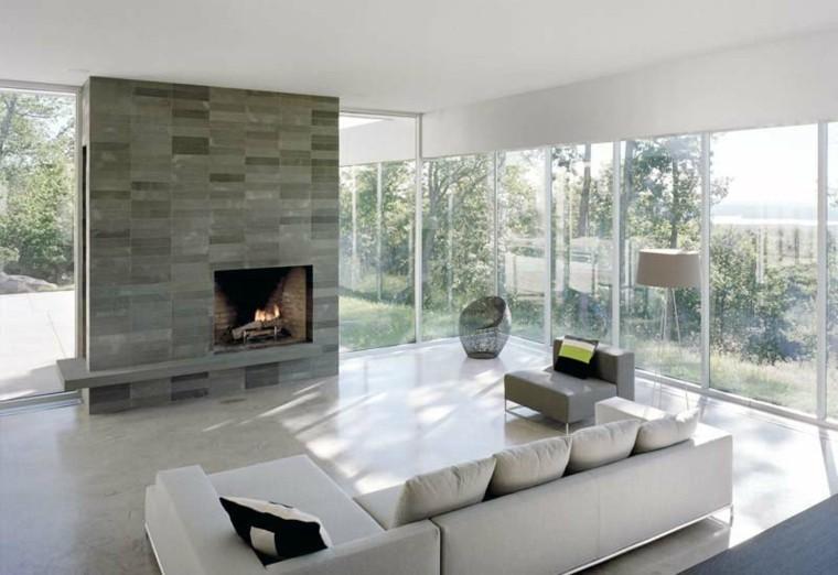 Sala De Estar Minimalista Moderno ~ Sala de estar moderna de estilo minimalista  100 ideas