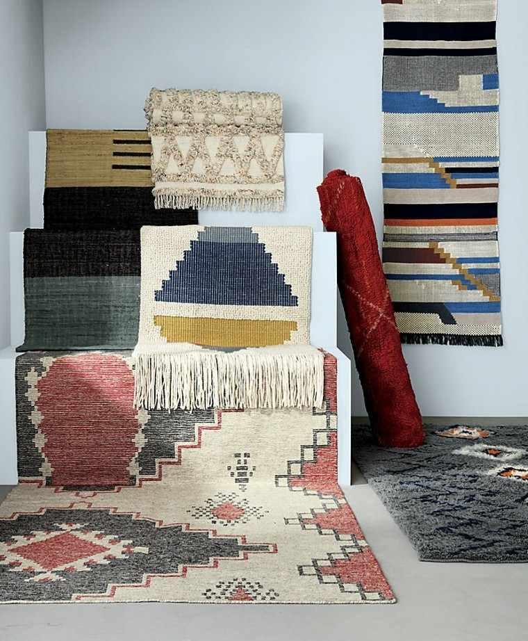 novedades decoracion alfombras estilo boho preciosas ideas
