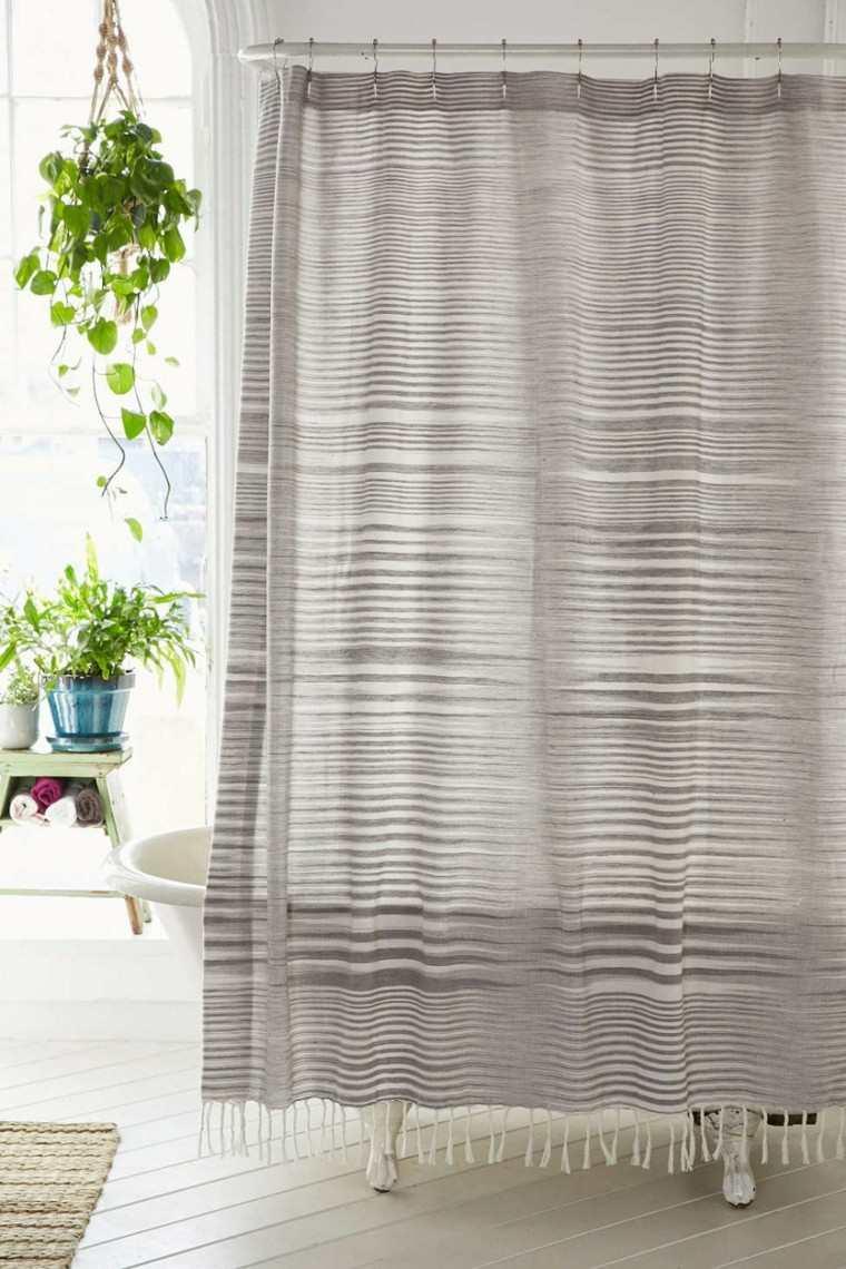 novedades decoracion boho moderna cortina ducha ideas