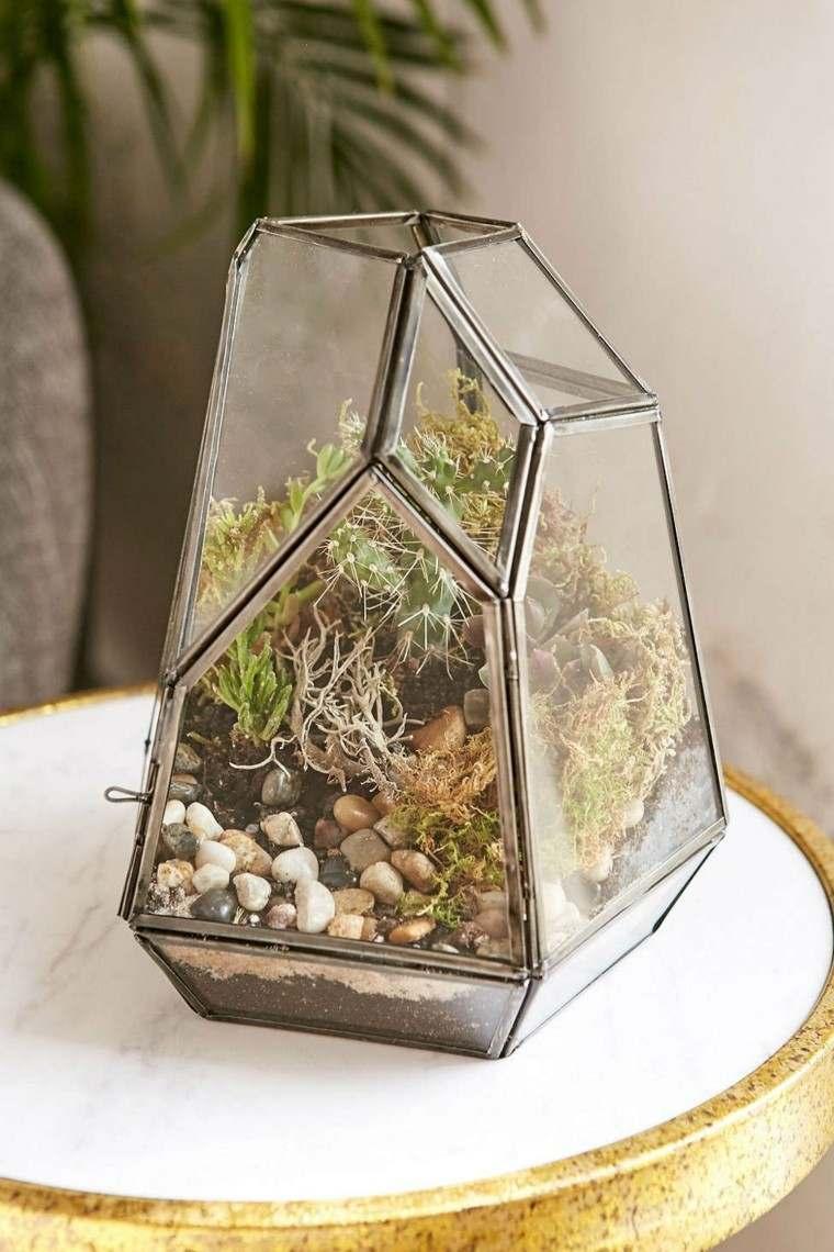 novedades decoracion maceta cristal interesante ideas