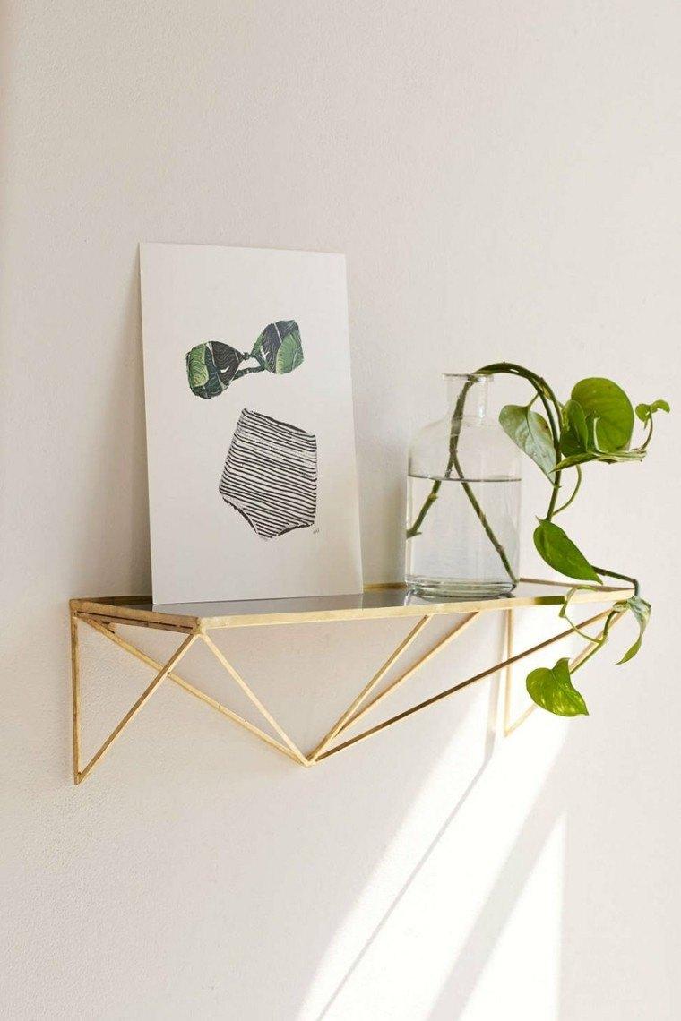 novedades decoracion moderna estanteria cristal ideas
