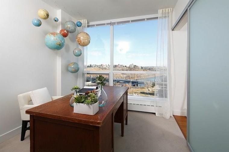 oficina casa varios globo decorando colgando techo ideas