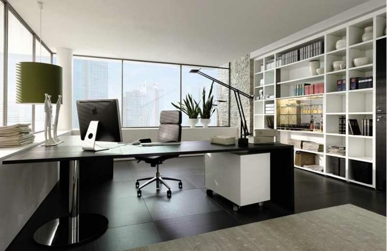 diseño despacho estilo moderno