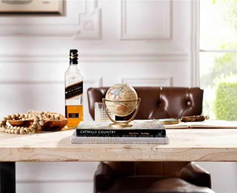 Globos y mapas para decorar la casa con estilo -