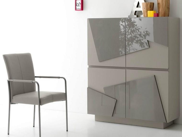 original diseño comoda gris lacada