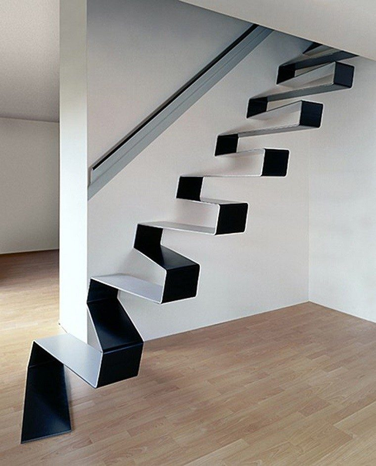 Decorar escaleras con estilo 50 ideas for Modelos de escaleras para exteriores
