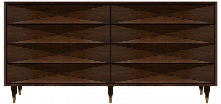 original diseño vestidor madera pequeño