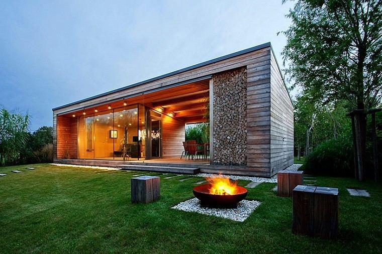 originales diseños casas campo modernas