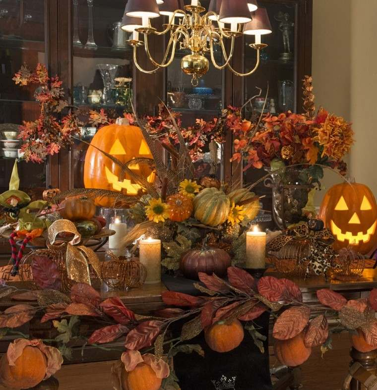 paisajes de otoño fiesta hallow