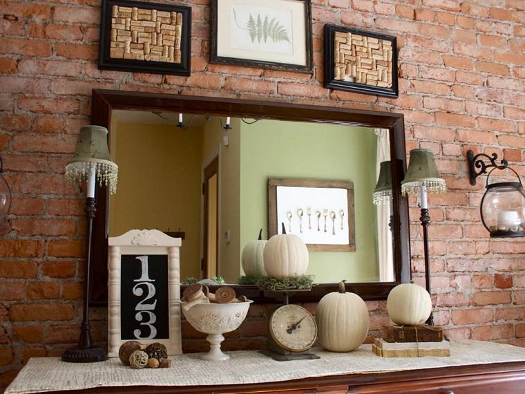 paisajes de otoño decoraciones calabazas otono ideas