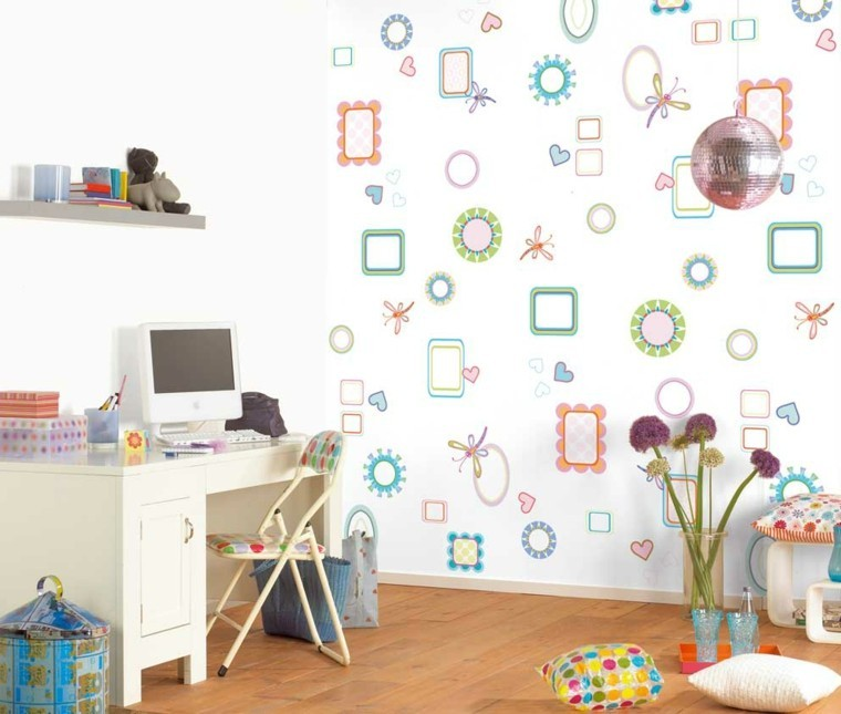 papel de pared dormitorio infantil