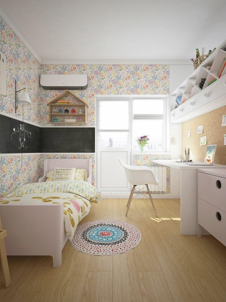 Fotos habitaciones juveniles para chicos y chicas modernos for Habitaciones juveniles chica