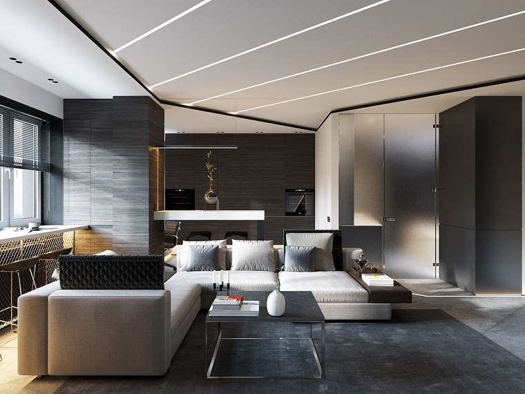 amazing with salones diseo modernos - Diseo De Salones