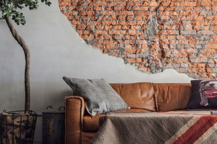 Decorar paredes con estilo cincuenta ejemplos - Disenos para pintar paredes ...