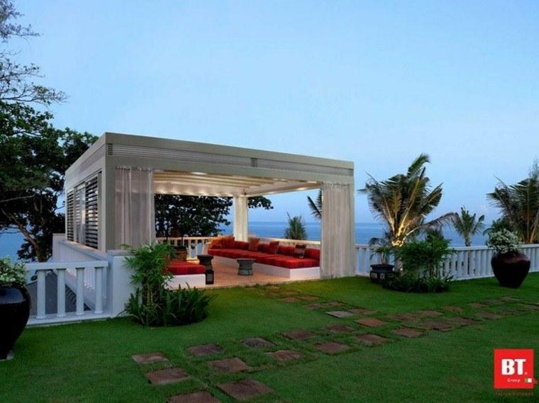 pergola grande diseño btgroup terraza