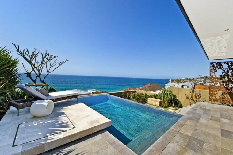 pool design bed garden lounger