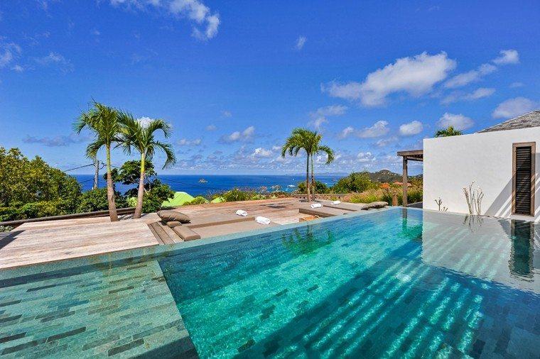 pool design sea attractive landscape
