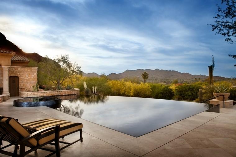 pool design rocks pond modern