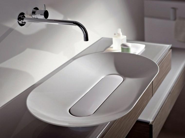 plato lavabo diseño forma ovalado