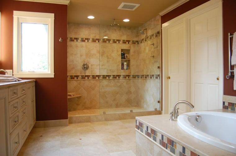 401 Custom Bathroom Ideas For 2019: Bañera Con Ducha, 50 Variantes De Diseño Para Combinarlas
