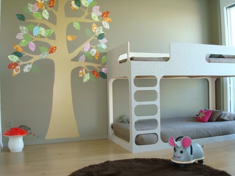 Color dise o y creatividad para habitaciones infantiles - Disenos habitaciones infantiles ...