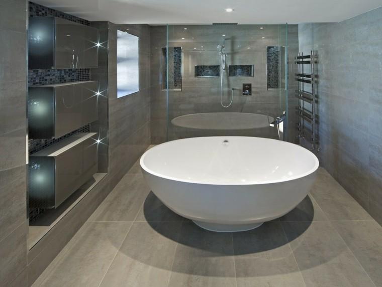 reformas de baños moderna bañera blnaca