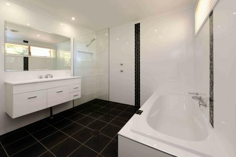 reformas de baños mueble espejo luces