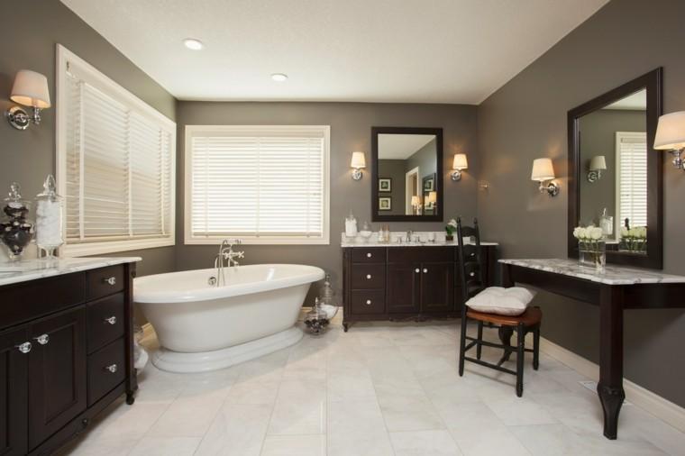 reformas de baños ventana lamparas bañeras