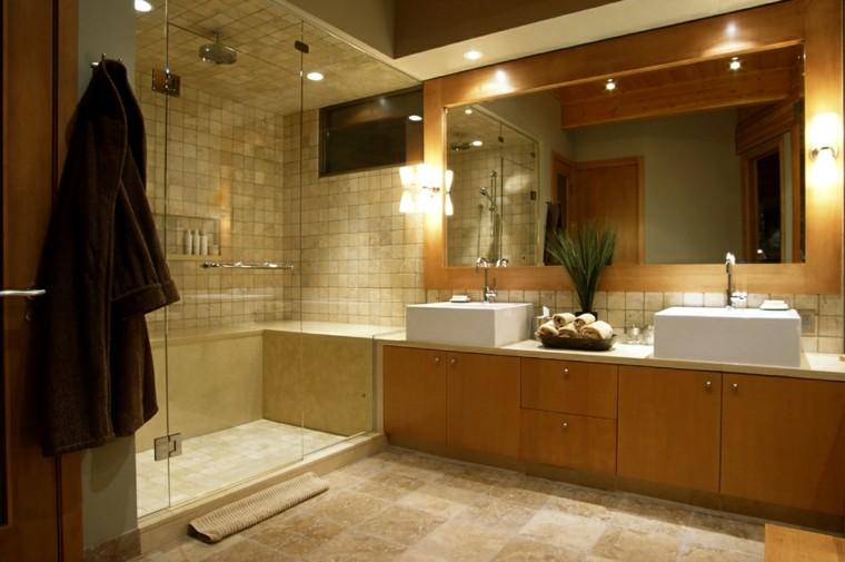 renovado baño moderno puerta lujo