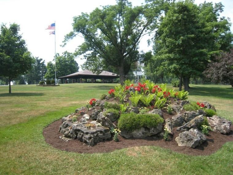 Roca jardines y naturaleza creando ambientes diferentes - Rocas para jardin ...