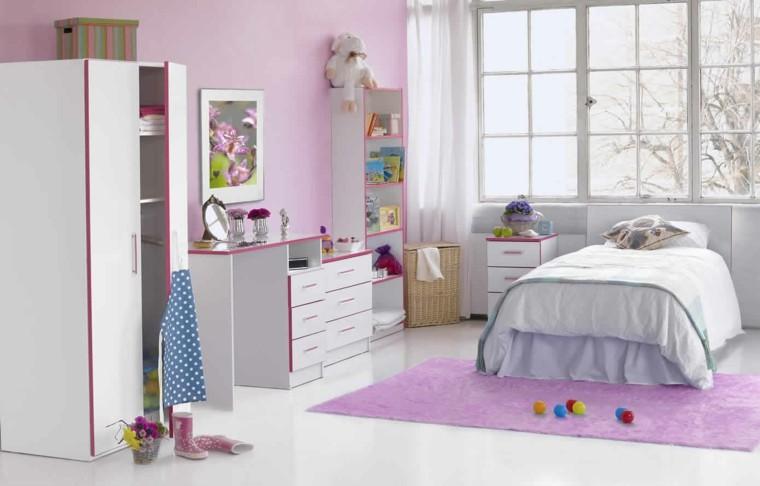 rosa blanco armario closet pelotas