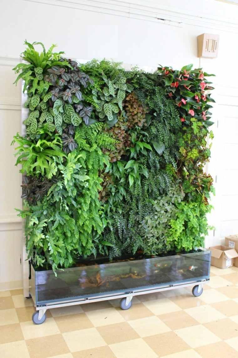 Dise o jardines verticales y naturaleza un espacio de vida - How to fish wire through exterior wall ...