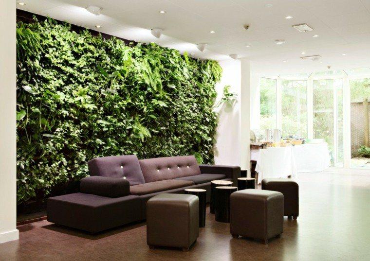 Las plantas 25 ideas que llenan tu espacio de vida for Decoracion de casas con plantas de interior