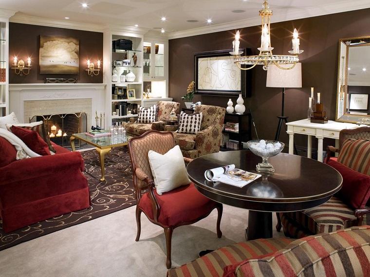 Tipos de chimeneas perfectas para un hogar acogedor for Diferencia entre halla y living room