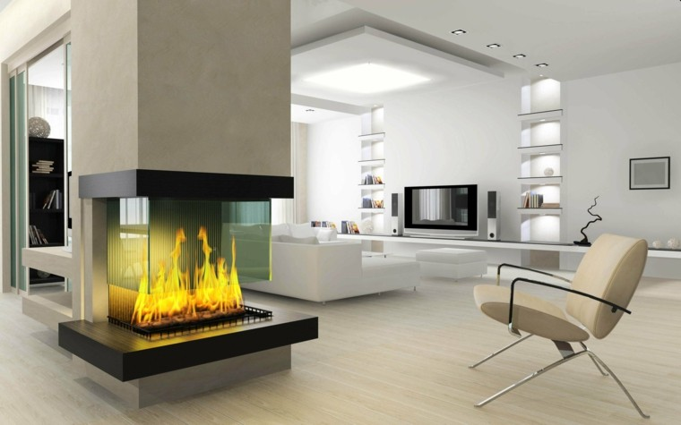 Interiores de casas modernas   25 estupendas ideas
